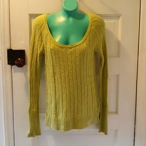 American Eagle Outfitters green sweater